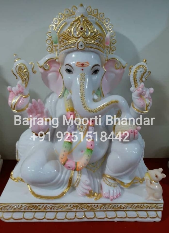ganesh ji marble moorti Statue manufacturer