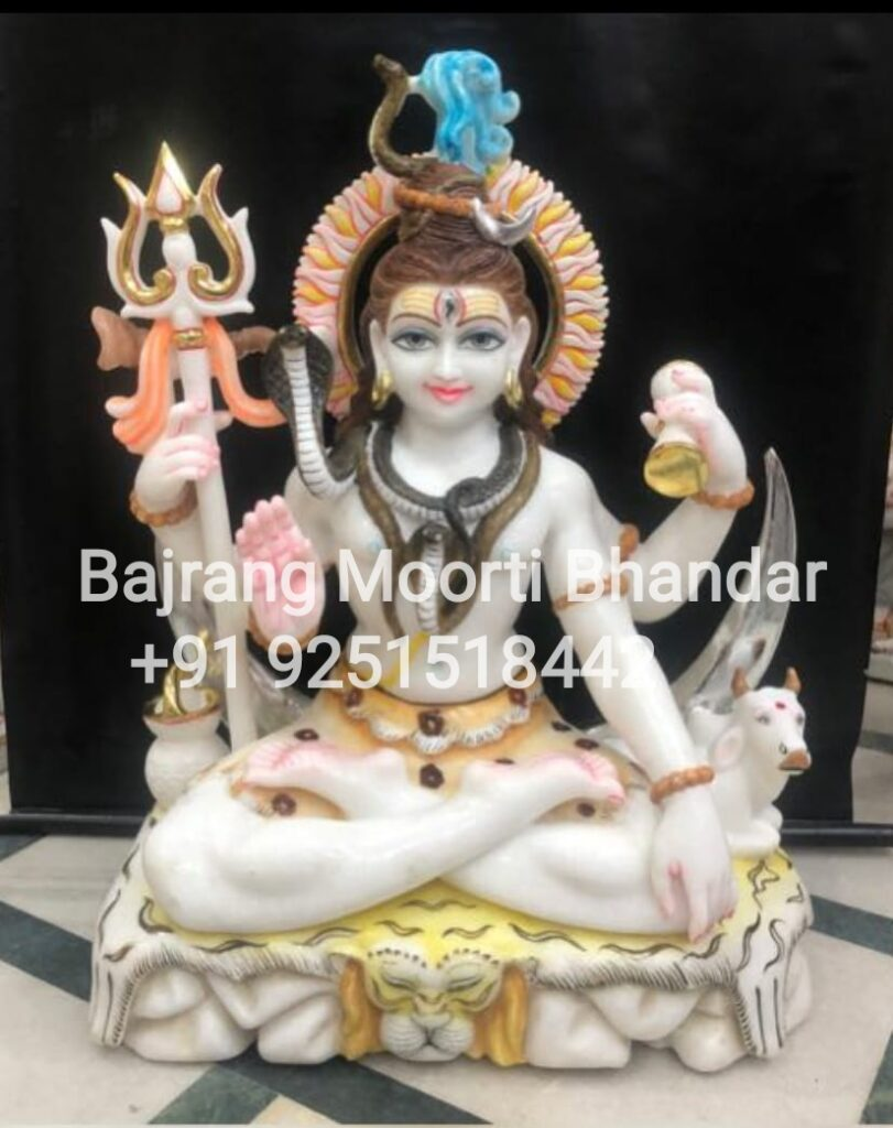 Lord Shiva Statue In marble