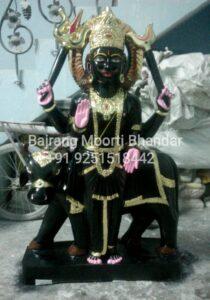 ShaniDev Marble Moorti Statue