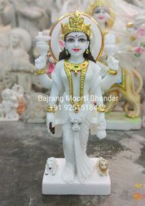 Parvati MAta Statue MArble Murti Idol