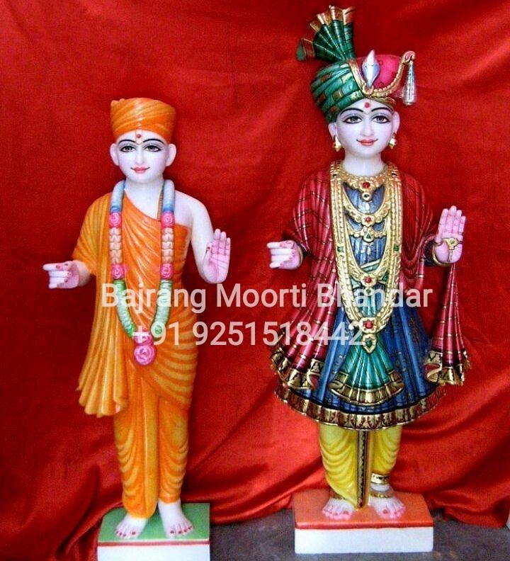 marble Swaminaryan Statue