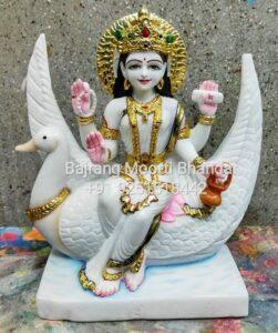 Brahmani Mata Statue in Marble Murti