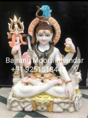 Shiv murti marble