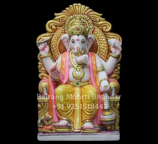 small lalbaugcha raja murti statue