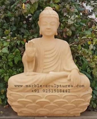 sandstone Buddha Statue