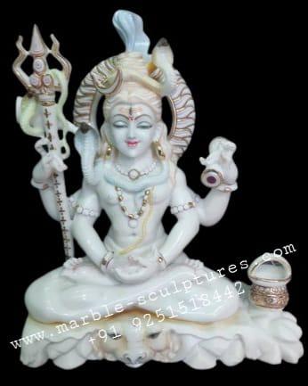 Shiv marble murti