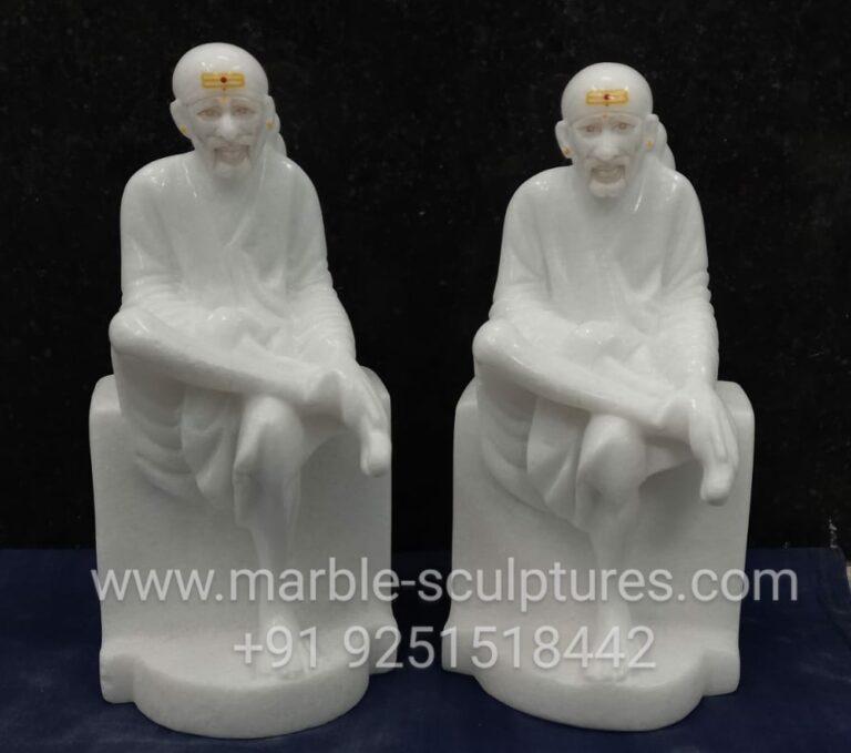 small marble sai baba