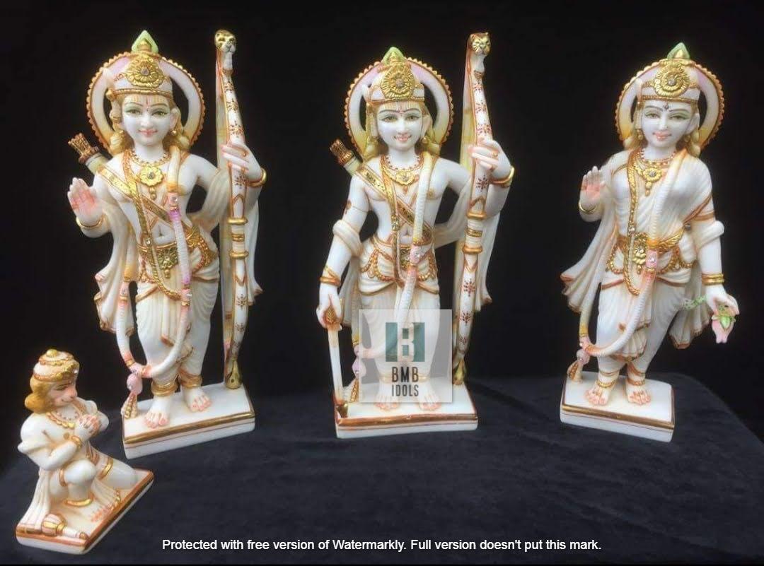 12inch marble Ram Darbar Statue