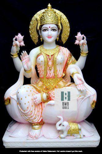 Big Marble Laxmi Murti