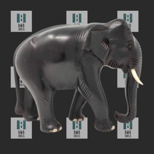 Black Elephant statues