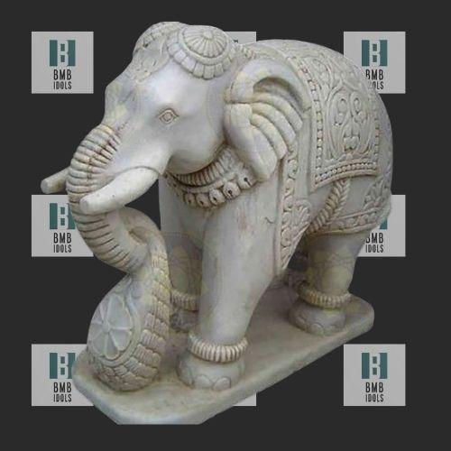 marble elephant figuirines