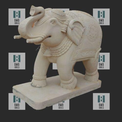 marble elephant figures