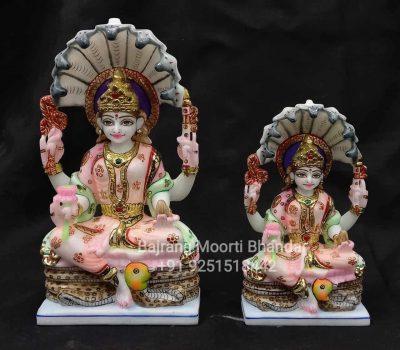 Small Marble Padmavati Statue