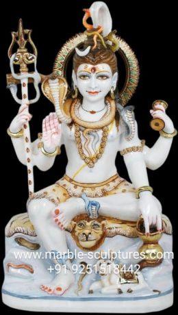 Bhagwan Shiva Murti Marble