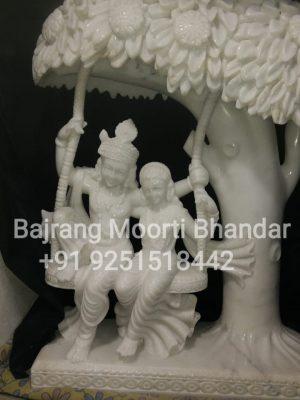 radha krishna on swing