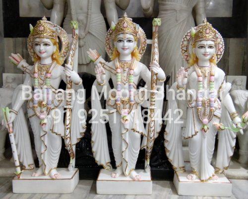 Marble Ram darbar Moorti