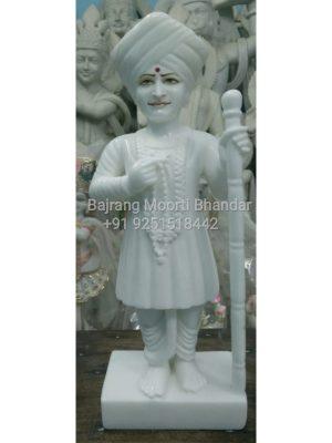 Jalaram Bapa Statue Marble