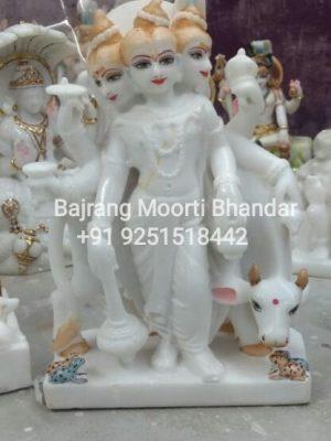 Dattareya Statue Marble Murti