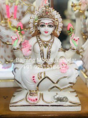 Small Laxmi Ji Marble Statue