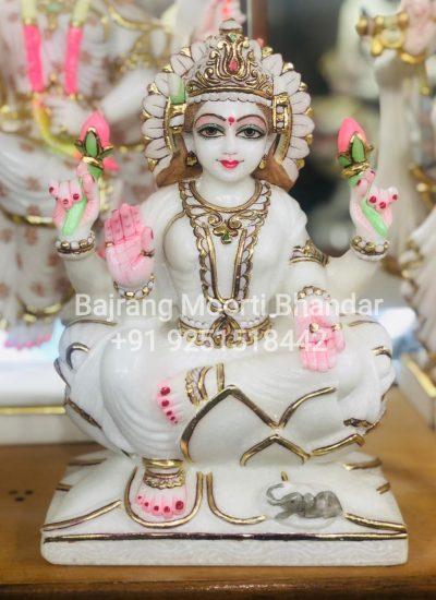Small Marble Laxmi Idol