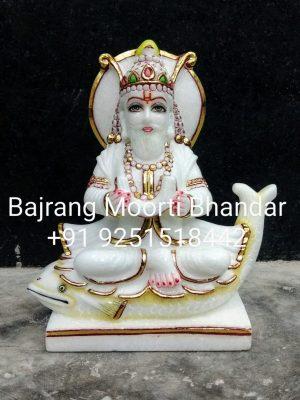 Jhulelal Marble Moorti Statue