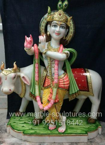 Marble Krishna Murti