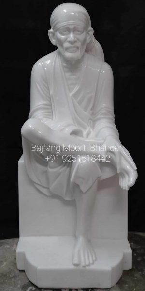 This  is Marble Shridi Sai baba murti