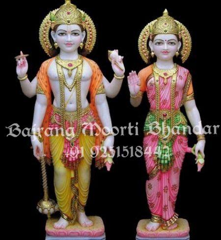 Laxmi Narayan Marble Murti for sale