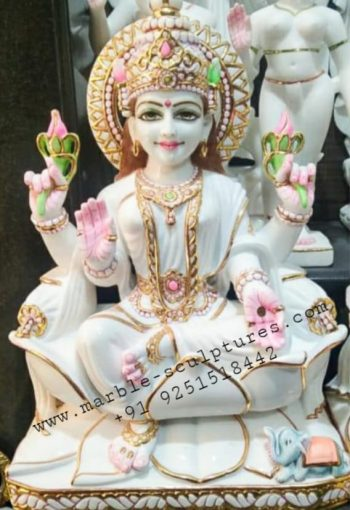 White Marble Lakshmi Murti