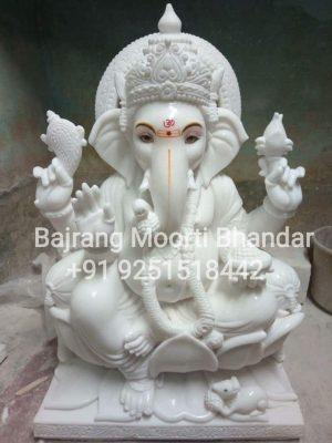 Marble Ganesh Ganpati Statue in Mumbai