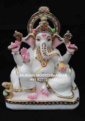 Marble Ganesh Ganpati Statue