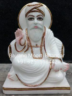 Marble Guru Nanak Dev Statue