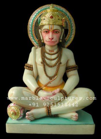 marble hanuman bhagwan murti