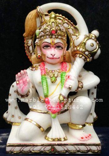 marble hanuman ki murti