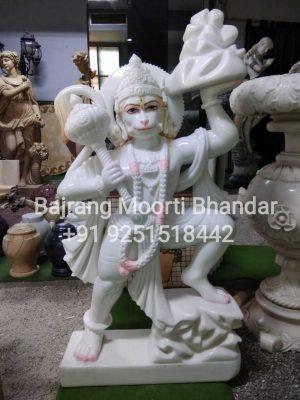 This is Marble Hanuman Statue