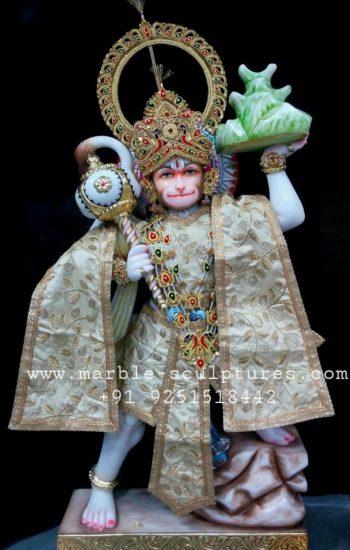 marble hanuman statue for homes
