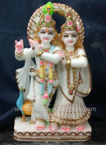 marble radha krishna murti online