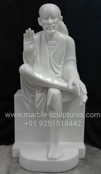 Marble sai baba statue online