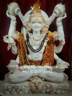 Marble Mahadev Shiv Murti Statue Veitnam