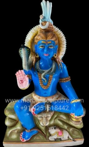 Shiva Stone Statue