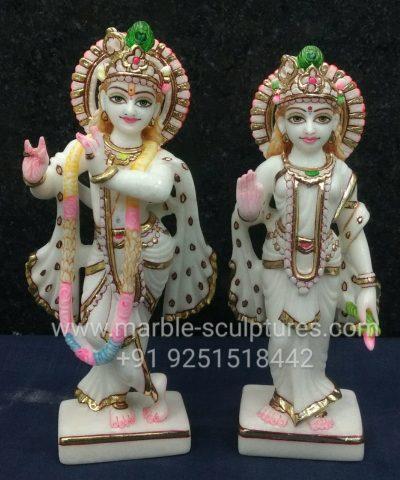 small Radha Krishna Murti
