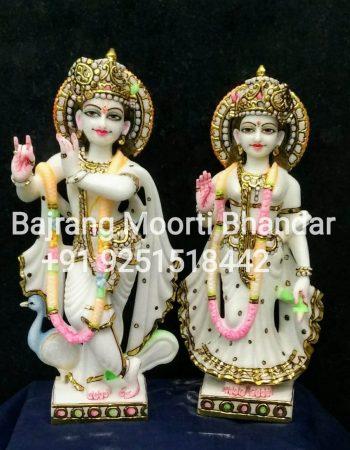 small Radha Krishna Statue