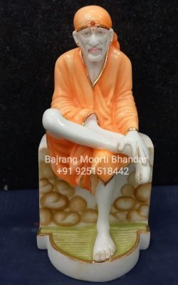 Small Sai Baba Murti full Painted